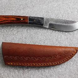 New fixed blade knife with sheath