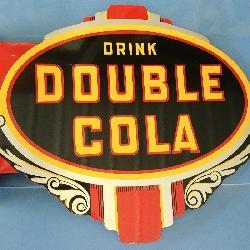Double Cola Metal Flange Sign