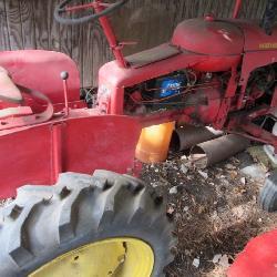 Harris Massey Pony Tractor