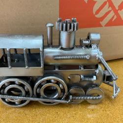 Metal art train
