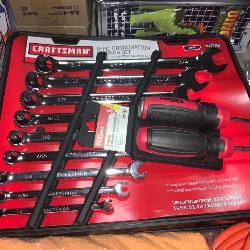 Craftsman wrench set