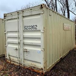 20' Sea Container, Single Door, Wood Floor