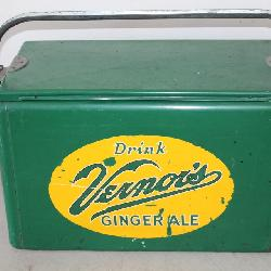 Vernor's Advertising Cooler