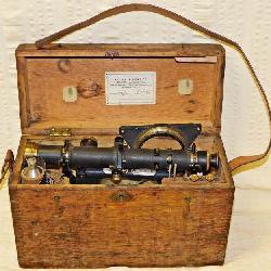 #22  1926 Keuffel & Esser Transit In Original Wood Case