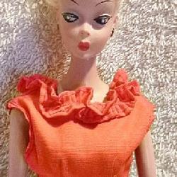 #25b  Original German Bild Lilli Doll w/ Outfit
