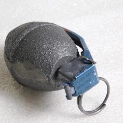 Demilitarized hand grenade