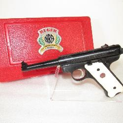 New Ruger Mark II NRA .22 Semi-Auto Pistol *Rare 2 Digit Serial # for Employees