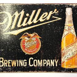 Miller Brewing Retro Tin Sign