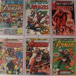 Lot of (75) Avengers incl. 1st Taskmaster, 1st Rouge, Ultron ETC.