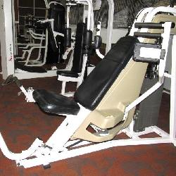 Nautilus Pec Fly Weight Machine