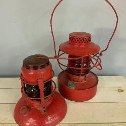 Laclede gas railroad lanterns