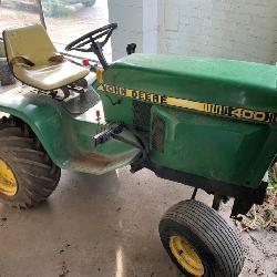 John Deere & Other Vintage Lawn Tractors, More!
