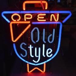 Old Style Open Neon Light 20