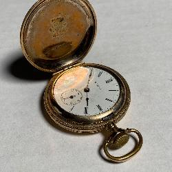 Elgin Double Hunting Case Pocket Watch