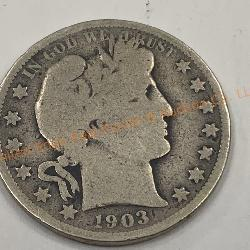1903 Barber/Liberty Half Dollar