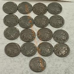 17 - Buffalo Nickels - 1935