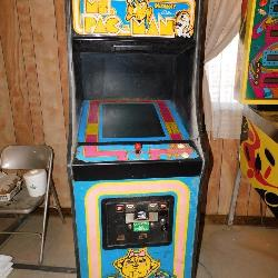 COIN-OP: Midway Bally Ms. PAC-MAN Electronic Arcade Game