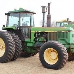 John Deere 4850 Tractor with GPS