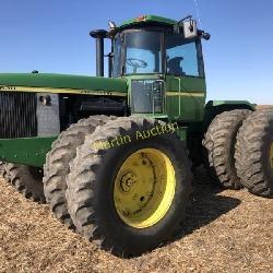 John Deere 8630 4x4 tractor