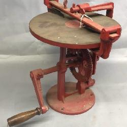 Cast Iron Hand Crank Table