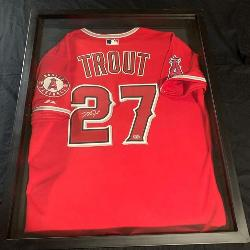 Mike Trout Autograpy Jersey at Auction