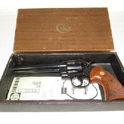 Unfired 1970 Colt Python .357 Mag Revolver