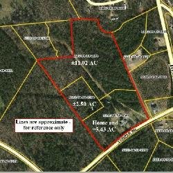 18+/- Acres & home near Dacusville SC