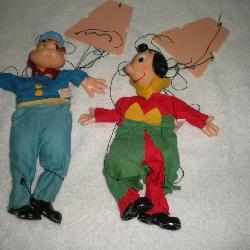 Popeye String Puppets