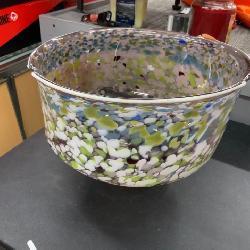 David Hershey Artist Signed Bowl