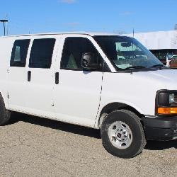 #1360 2013 GMC Savana Work Van, 4.8L V-8 Engine