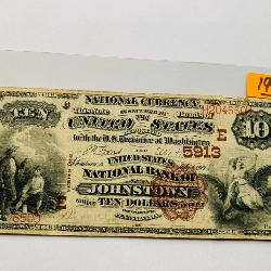JOHNSTOWN, PA NATIONAL CURRENCY