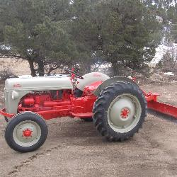 8N Ford Tractor W/ angle blade