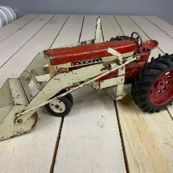 International Harvester tractor with loader made in the USA