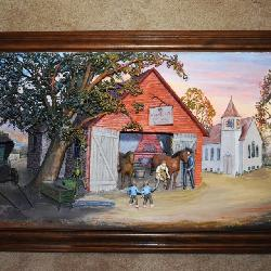 Abner Zook 3D Painting
