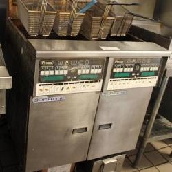 Pitco Dual Fryer Battery