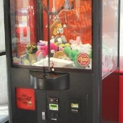 Crazy Claw Plush Toy Coin-op Arcade vending mach.