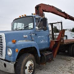 Ford Crane Truck w/ Boom