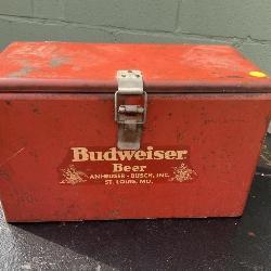 Anhuser Busch Vintage beer cooler