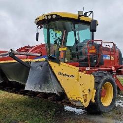 2013 New Holland H8060 With Durbine 416 16' Head