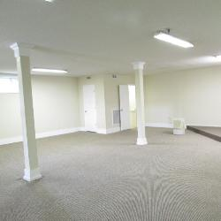 Interior of the building on the left