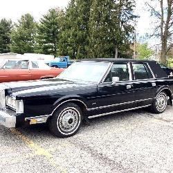 1985 Lincoln Town Car Sedan, 19k Miles
