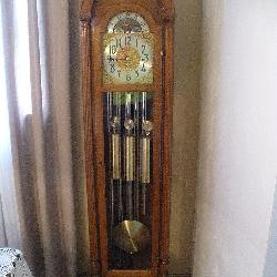 Herschede Tubular Hall Clock 8 Day Moment w/Key