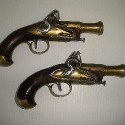 Pair French Dueling Pistols