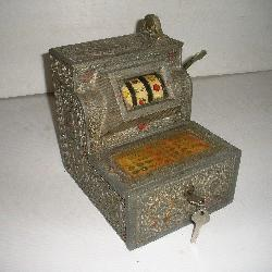 1920s 5Cent Mills Puritan Bell Slot Machine