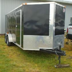 2014 7X17 ROAD HOG CARGO TRAILER