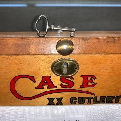 rare Case XX Cutlery General Store Counter Display