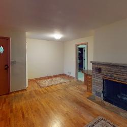 Fire Place and Hard wood Floors