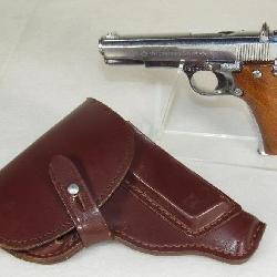 Star SA SM Super 9mm -.380 Semi-Auto Pistol Nickel Finish