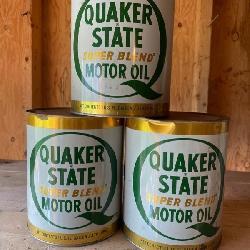 Quaker State Memorabilia