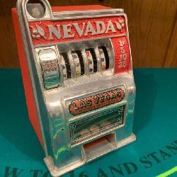 Working Vintage Slot Machine